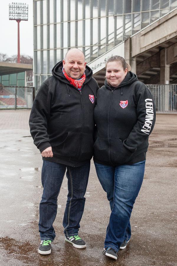 Anhänger von KFC Uerdingen
