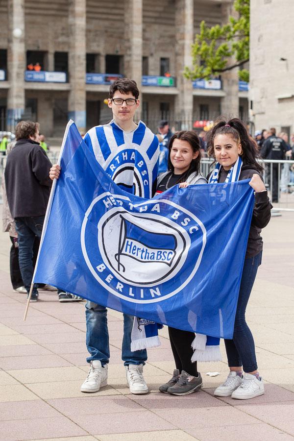 Anhänger von Hertha BSC
