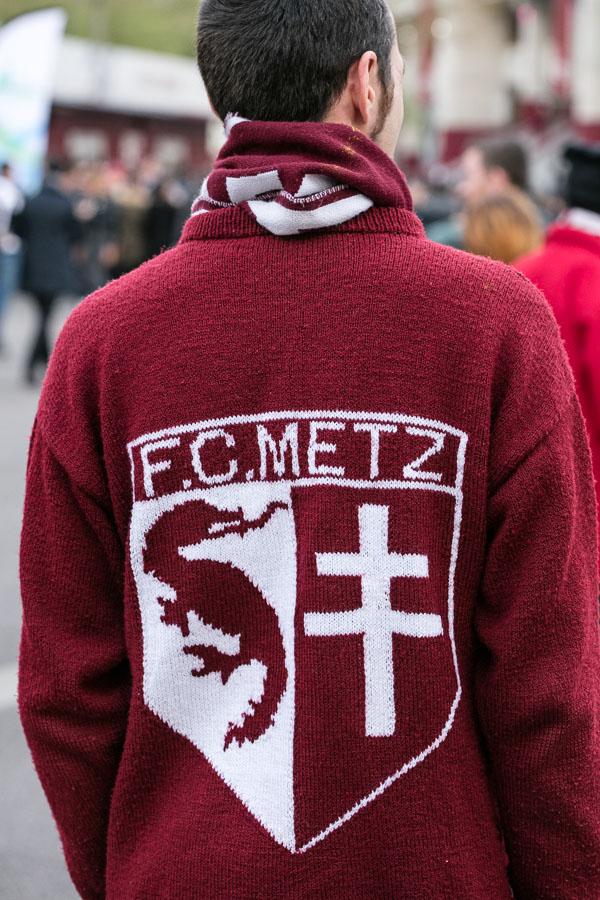 Anhänger des F Metz