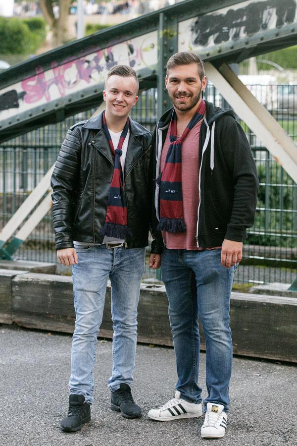 Anhänger des Wuppertaler SV
