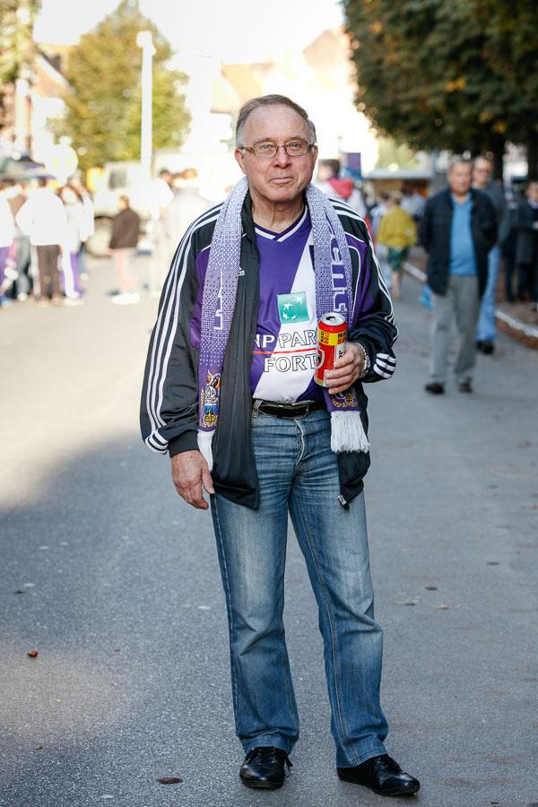 Anhänger von RSC Anderlecht